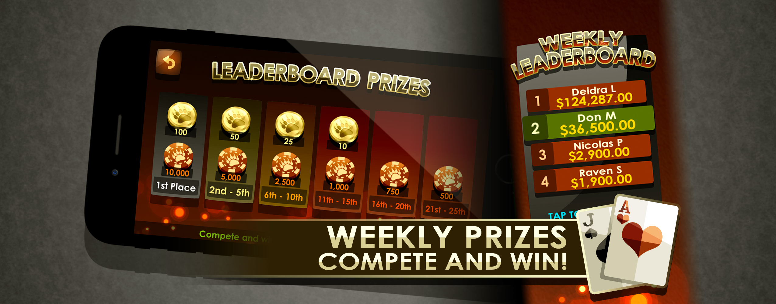 Weekly Prizes!