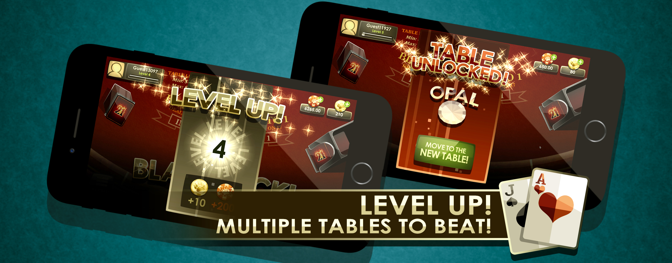 Level Up! Multiple table to beat!