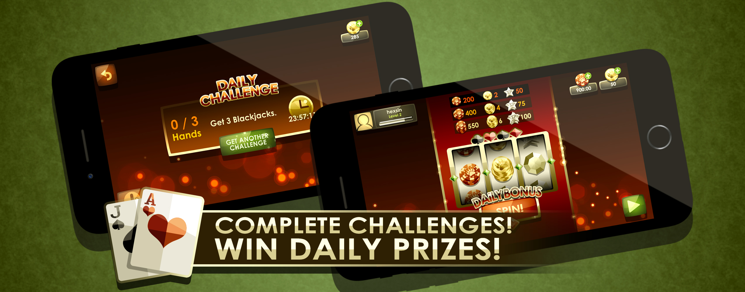 Complete Challenges! Win daily prizes!