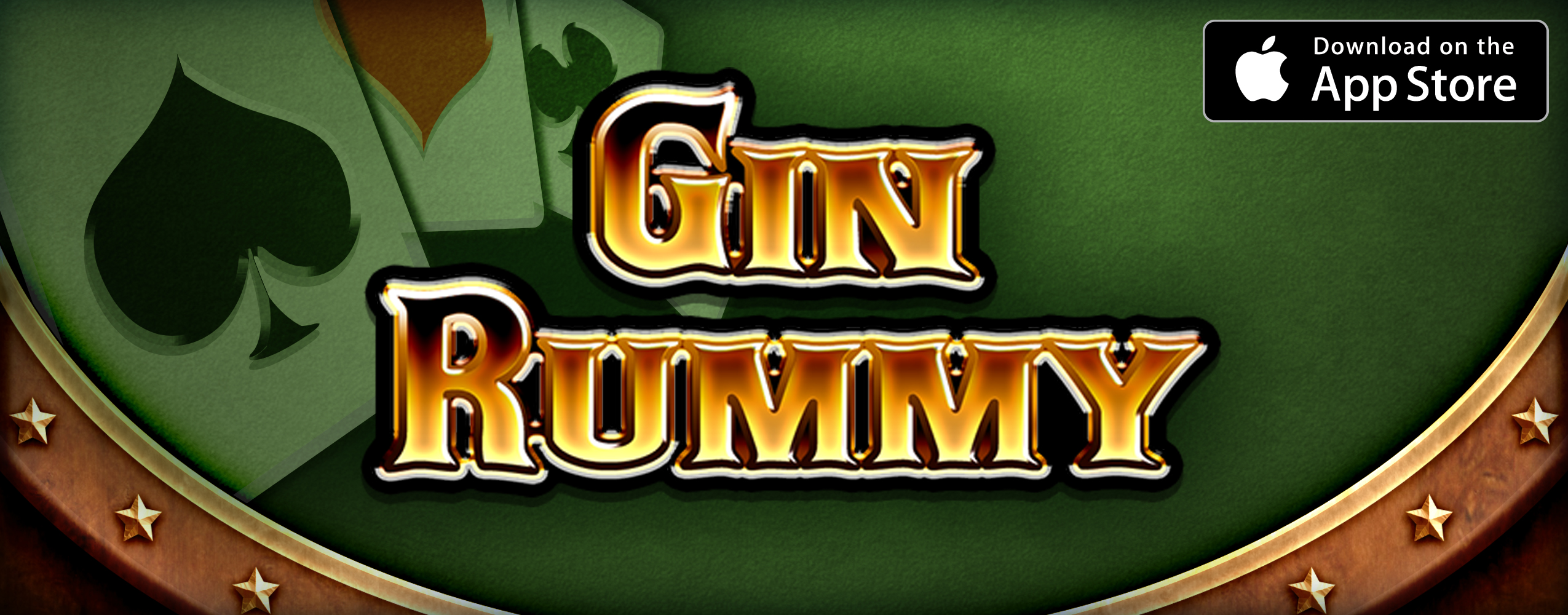 Gin Rummy game page for iPhone and iPad