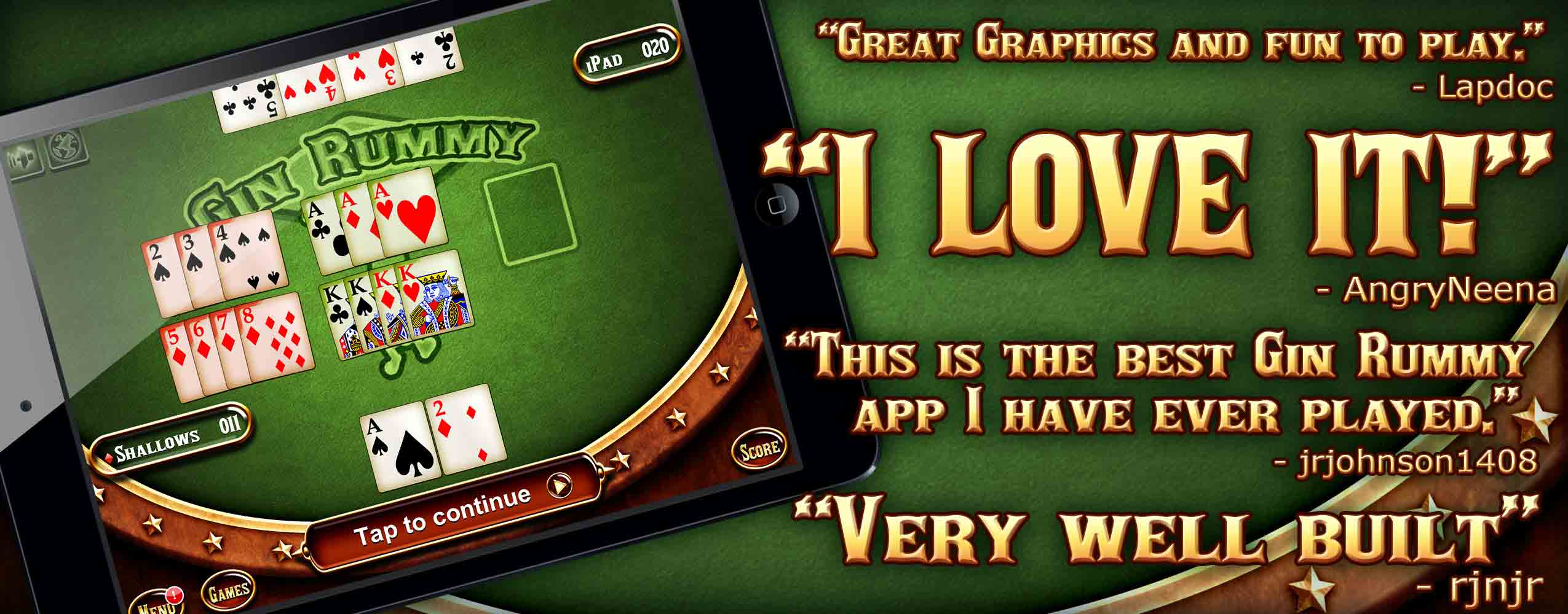 Gin Rummy Player Feedback