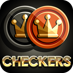 Checkers Royale game page for iOS